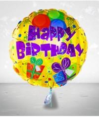 Happy Birthday Balloon 01