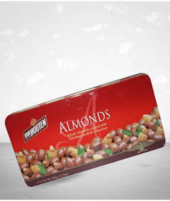 Van Houten Choco Almonds 450G